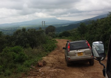 Long drive to Kijabe