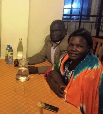 Severino and Rose from S. Sudan (EFCSS)